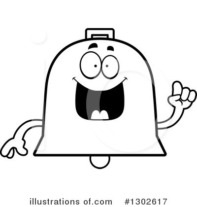 Bell Clipart #1302617 by Cory Thoman