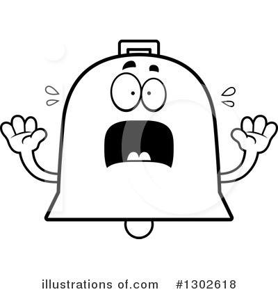 Bell Clipart #1302618 by Cory Thoman