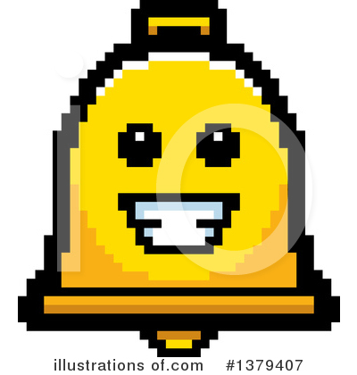 Bell Clipart #1379407 by Cory Thoman