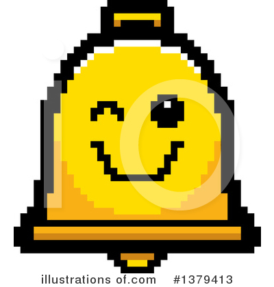 Bell Clipart #1379413 by Cory Thoman