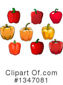 Bell Pepper Clipart #1347081 by Vector Tradition SM
