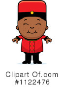 Bellhop Clipart #1122476 by Cory Thoman