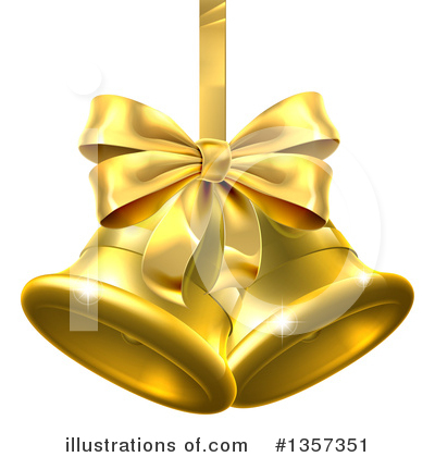 Christmas Bells Clipart #1357351 by AtStockIllustration