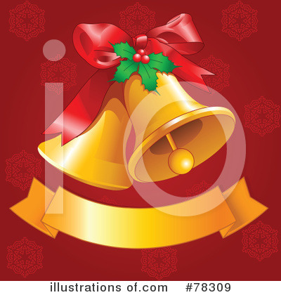 Christmas Bells Clipart #78309 by Pushkin