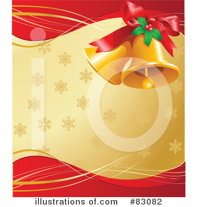 Christmas Bells Clipart #83082 by Pushkin
