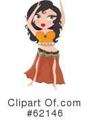 Belly Dancer Clipart #62146 by Maria Bell