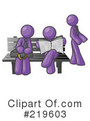 Royalty-Free (RF) Bench Clipart Illustration #219603