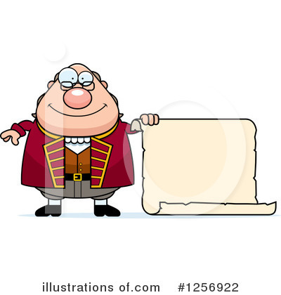 Benjamin Franklin Clipart #1256922 by Cory Thoman