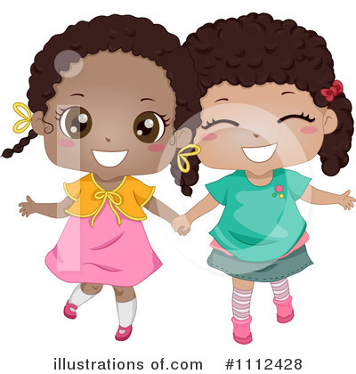 Royalty-Free (RF) Best Friends Clipart Illustration by BNP Design Studio - Stock Sample #1112428