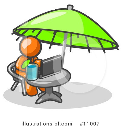 Vacation Clipart #11007 by Leo Blanchette