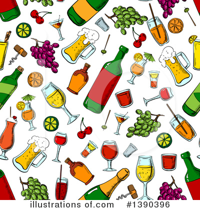 Wine Clipart #1390396 by Vector Tradition SM