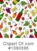 Royalty-Free (RF) Beverage Clipart Illustration #1390396