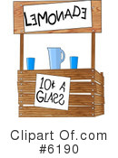 Royalty-Free (RF) Beverage Clipart Illustration #6190