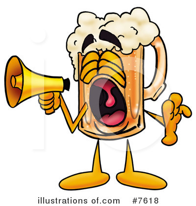Beverage Clipart #7618 by Toons4Biz