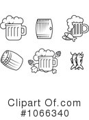 Royalty-Free (RF) Beverages Clipart Illustration #1066340