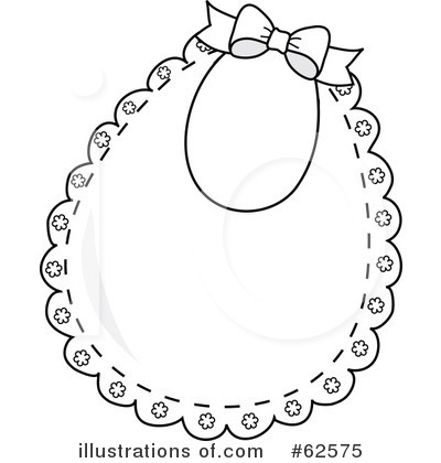 Royalty-Free (RF) Bib Clipart Illustration by Pams Clipart - Stock Sample #62575