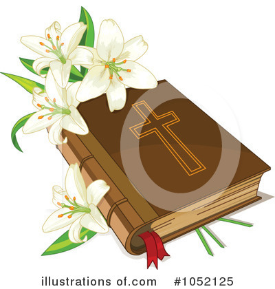 Royalty-Free (RF) Bible Clipart Illustration by Pushkin - Stock Sample #1052125