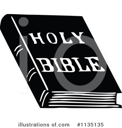 Royalty-Free (RF) Bible Clipart Illustration by Prawny Vintage - Stock Sample #1135135