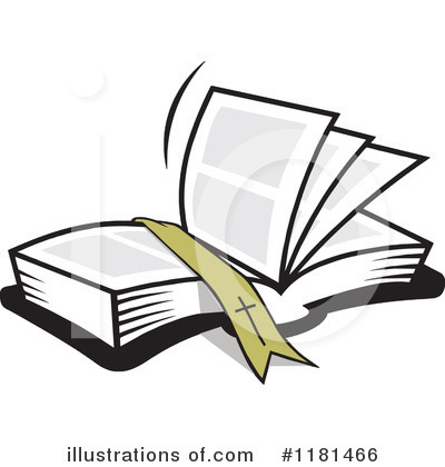 Reading Clipart #1181466 by Johnny Sajem
