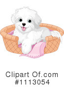 Bichon Frise Clipart #1113054 by Pushkin