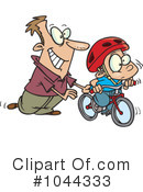 Royalty-Free (RF) bicycle Clipart Illustration #1044333