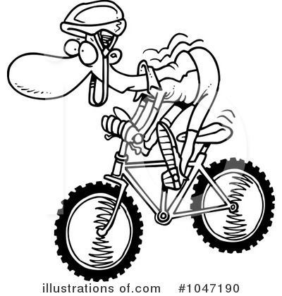 Bicycle Clipart #1047190 by toonaday