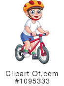 Royalty-Free (RF) Bicycle Clipart Illustration #1095333
