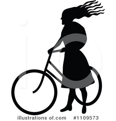 Bicycle Clipart #1109573 by Prawny Vintage
