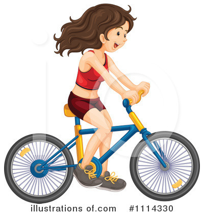 Bike Clipart #1114330 by Graphics RF