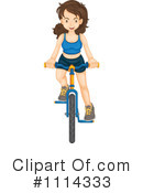 Bicycle Clipart #1114333 by Graphics RF