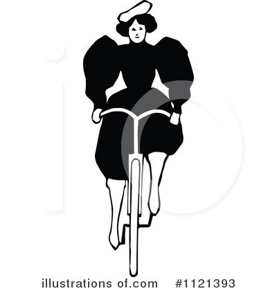 Bicycle Clipart #1121393 by Prawny Vintage