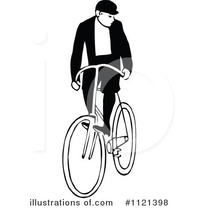 Bicycle Clipart #1121398 by Prawny Vintage