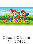 Bicycle Clipart #1187455 by Graphics RF