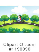 Bicycle Clipart #1190090 by Graphics RF