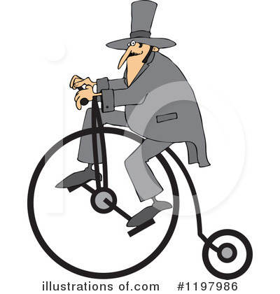Bicycle Clipart #1197986 by djart