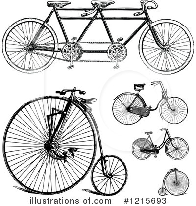 Bicycle Clipart #1215693 by BestVector
