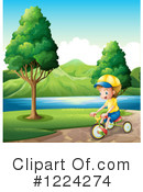 Bicycle Clipart #1224274 by Graphics RF