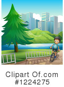 Bicycle Clipart #1224275 by Graphics RF