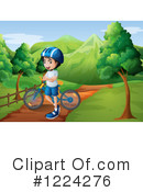 Bicycle Clipart #1224276 by Graphics RF