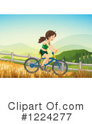 Bicycle Clipart #1224277 by Graphics RF