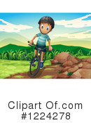 Bicycle Clipart #1224278 by Graphics RF