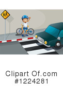 Bicycle Clipart #1224281 by Graphics RF