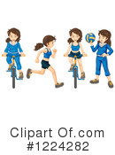 Bicycle Clipart #1224282 by Graphics RF