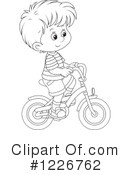 Bicycle Clipart #1226762 by Alex Bannykh
