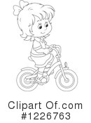 Bicycle Clipart #1226763 by Alex Bannykh