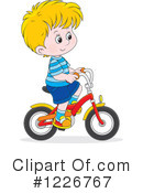 Bicycle Clipart #1226767 by Alex Bannykh