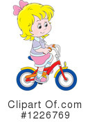 Bicycle Clipart #1226769 by Alex Bannykh