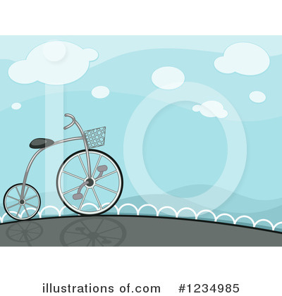 Bicycle Clipart #1234985 by BNP Design Studio
