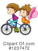 Bicycle Clipart #1237472 by Graphics RF