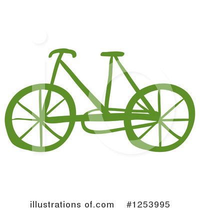 Bike Clipart #1253995 by Graphics RF